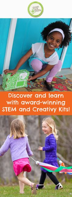 A fun surprise for kids in the mailbox every month from Green Kid Crafts!