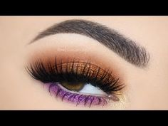 ♡ Spring Peanut Butter and Jelly Pallete Make Up Tutorial | Melissa Samways ♡ - YouTube