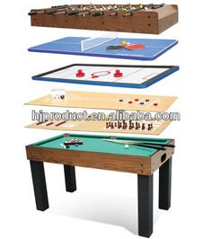 High Quality 8 In 1 Custom Game Table - Buy Custom Game Table,8 Inn 1 Multi Table,Game Tables Cheap Product on Alibaba.com