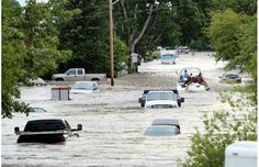 LIVE: High River, 20 Calgary neighbourhoods, ordered evacuated as flooding threatens to top 2005 levels.Photograph by: Kaiser Sports Med, Calgary Herald
