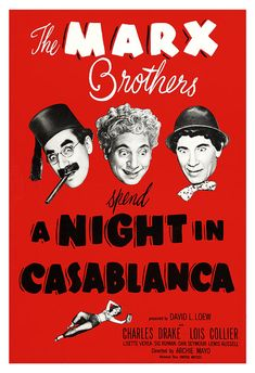 The Marx Brothers A Night in Casablanca