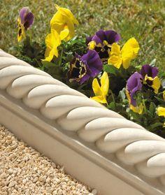 bordures de jardin en béton