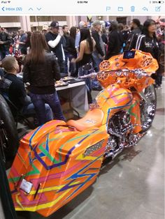 Easy rider show. Over the top paint Harley Bagger, Bagger Motorcycle, Harley Bikes, Harley Davidson Motorcycles, Custom Motorcycles, Custom Bikes, 4 Wheeler Accessories, Road Glide Custom, Big Girl Toys