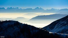 Alps from Jura by Jozef (Saki) Sakalos on Alps, Mountains, Nature, Photography, Travel, Naturaleza, Photograph, Viajes, Fotografie