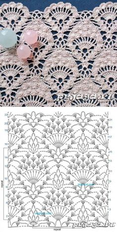 Watch This Video Beauteous Finished Make Crochet Look Like Knitting (the Waistcoat Stitch) Ideas. Amazing Make Crochet Look Like Knitting (the Waistcoat Stitch) Ideas. Crochet Bedspread Pattern, Crochet Fabric, Crochet Motifs, Crochet Diagram, Crochet Stitches Patterns, Crochet Chart, Thread Crochet, Crochet Doilies, Crochet Lace
