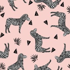 zebra // mustard yellow zoo safari afric custom fabric by andrea_lauren for sale on Spoonflower Animals Black And White, Black And White Fabric, Black N Yellow, Andrea Lauren, Zebras, Knitting Designs, Mustard Yellow, Custom Fabric, Spoonflower