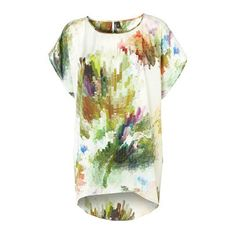 Colour burst tunic from Top Shop, versatile enough to dress up or down