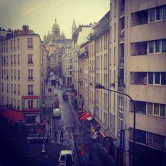 Rue de Chartres, quartier de le Goutte d'Or