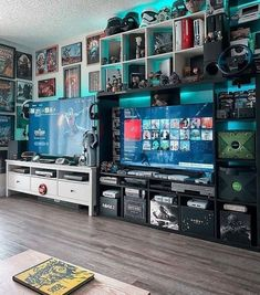 BROTHERTEDD.COM Gaming Room Setup, Pc Setup, Oddly Satisfying Videos, Game Room Design, Game Room Decor, Gamer Room, Family Games, Gaming Computer, Xbox