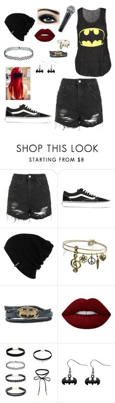 """Lead Singer"" by batman101k ❤ liked on Polyvore featuring Topshop, Vans, Patagonia, Max Factor, Sweet Romance and Lime Crime"
