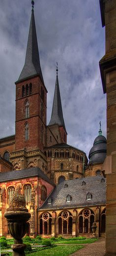 The Cathedral of Saint Peter (German: Trierer Dom) is a Roman Catholic church in Trier, Rhineland-Palatinate, Germany