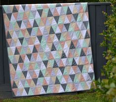 How to Quilt with Triangles