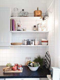 Swedish kitchen #homedecor #deco #kitchen #sweden