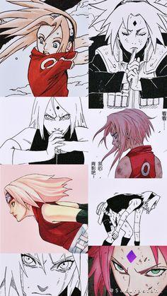 Sakura Haruno, Sakura And Sasuke, Kakashi, Naruto Uzumaki, Otaku Anime, Anime Art, Profile Wallpaper, Fanart, Naruto Girls