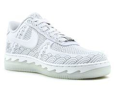"""Nike Air Force 1 """"AF1 Year of the Snake"""" Customs by Zhijun Wang"""