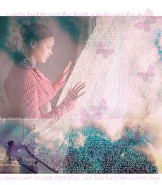 Bright Star. collage + artwork.