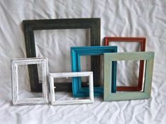 Salvaged Vintage Hand Painted Solid Wood by southerntouches