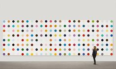 Damien Hirst: The Complete Spot Paintings 1986-2011- I want to go back to Tate Modern to see!