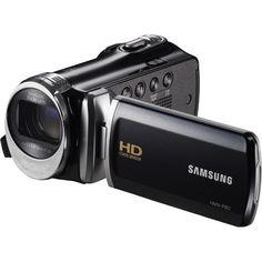 Samsung - 5.0 MP Optimal Zoom HD LCD Camcorder