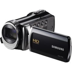 Samsung - 5.0 MP Optimal Zoom HD LCD Camcorder