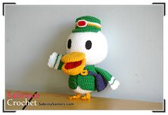 €4.00 EUR - Ravelry: Pete (Animal Crossing) pattern by Sabrina Somers