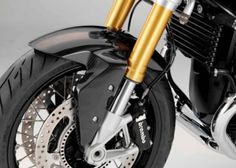 Carbon Fiber - HP Front Wheel Fender - BMW R nineT, S1000R - by BMW - - A&S BMW Motorcycle Parts and Accessories