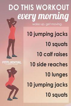 wake up workout: