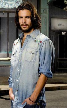 Santiago Cabrera...I thought he was so good looking in Love and Other Disasters