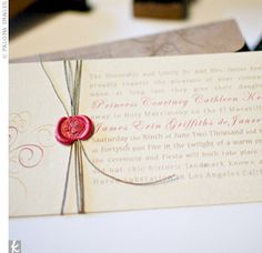 Real Weddings - Courtney & Erin: An Outdoor Wedding in Los Angeles, CA - The Invitations Southern Bride, Southern Weddings, Real Weddings, Budget Wedding, Wedding Planner, Wedding Ideas, Wedding Stationary, Wedding Invitations, Wax Stamp