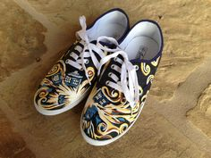 Hand Painted Shoes  Dr. Who by cindystyle on Etsy...Doctor Who .. :)... http://www.pinterest.com/cwsf2010/doctor-who