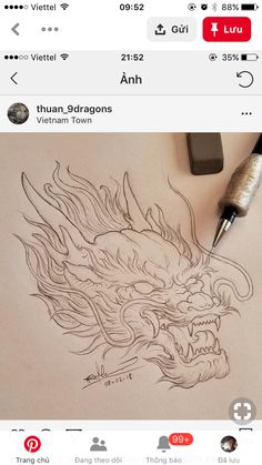 Dragon Tattoo Chest, Dragon Tattoo Drawing, Dragon Tattoos For Men, Dragon Sleeve Tattoos, Japanese Dragon Tattoos, Japanese Tattoo Art, Japanese Tattoo Designs, Dragon Tattoo Designs, Tattoo Drawings