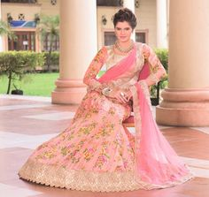 Pakistani Wedding Party Bollywood Ethnic Traditional Indian Lehenga Choli 1400…