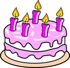 Immagini Torta di Compleanno | Illustrazioni e Clip Art #compleanno…