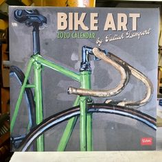 Another beautiful wall calendar from our favorite bicycle artist, Taliah Lempert. In stock at both locations or from the website. Art Calendar, Bicycle Art, New Year 2020, Beautiful Wall, Website, Awesome, Artist, Bike Art, Artists