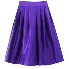 Chicnova Fashion Pure Color Ruffled Skirt ($19) ❤ liked on Polyvore featuring skirts, frill skirt, purple ruffle skirt, purple skirt, flouncy skirt and frilly skirt