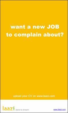 Laazi...DareToDream creative job ad #recruitment