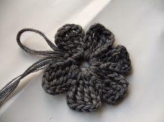 Grace y todo en Crochet: MAS FLORES PASO A PASO!.....MORE FLOWERS STEP BY S...