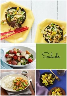 Want a respite from cooking on shabbat?  Try these 4 favorite salads for Saturday lunch.  #Shabbos #Shabbat #DreidelJams
