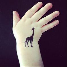 giraffe tattoos - Tattoo Ideas Central