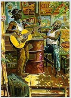 """Delta Blues"" ~ by John Carroll Doyle"