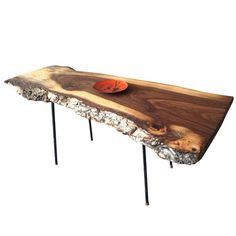 Mod Slab Table Elm  now featured on Fab.