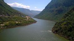 Cañòn del Rio Sogamoso Santander Colombia Foto Alexander Sanabria