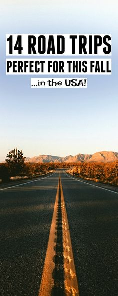 14 road trip ideas in the US perfect for this fall! Want some fall road trip inspiration? These 14 US road trip ideas will provide you with the perfect USA road trip this fall. We are want to say thanks if you like to share this post to another people […] Usa Roadtrip, Road Trip Usa, Travel Usa, Travel Tips, Travel Ideas, Travel Logo, Road Trip Destinations, Holiday Destinations, Family Road Trips