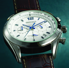 Seiko watch - available at selected Sterns stores Gift Of Time, Seiko Watches, Chronograph, Watches For Men, Diamond, Accessories, Jewelry, Jewlery, Men's Watches