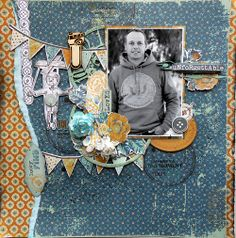 **general scrapbooking*** Lady Rose & Hidden Treasures for Kaisercraft. Scrapbooking Layouts, Scrapbook Pages, Glue Crafts, Paper Crafts, Birthday Scrapbook, Distressed Painting, Hidden Treasures, Boy Blue, Clear Stamps