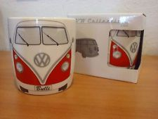 The VW Bus remains a strong symbol of originality, evolution, and independence. Show your VW love with the Mini Bus Coffee Mug. This mug made out of new bone China is sure to show your VW pride. Capacity equal to 1.69 cups/400ml. http://www.ebay.com/itm/Volkswagen-Kaffeetassen-Coffee-Mug-Red-Brisa-/132040302712?hash=item1ebe372078:g:oTIAAOSwFGNWRkjw