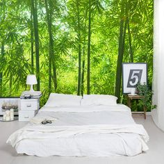 Bamboo Forest wall mural