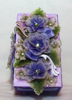 For a gift if I am seeing the recipient that day I often put a few fresh flowers on the wrapped gift