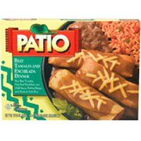 Patio frozen mexican dinners