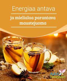 Energiaa antava ja mielialaa parantava maustejuoma  Jotkut ihmiset kokevat olonsa saamattomiksi ja alakuloisiksi tiettyinä aikoina, kuten vuodenaikojen vaihtuessa ja vaikeissa elämäntilanteissa. On tärkeää ratkaista ongelma mahdollisimman nopeasti, jotta se ei jatku liian pitkään ja vaikuta näin terveyteesi.